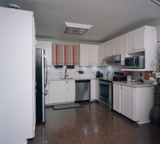 Faux fini sur armoires de cuisine style champetre for Armoire de cuisine style champetre
